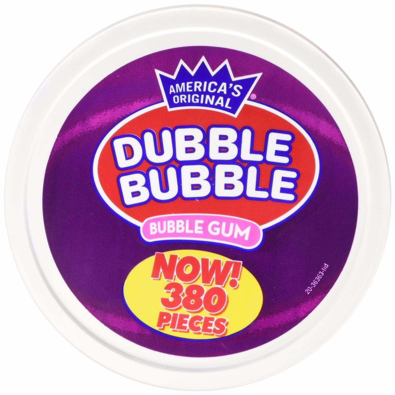 Dubble Bubble - Assorted Flavors, Tub (380 Count)