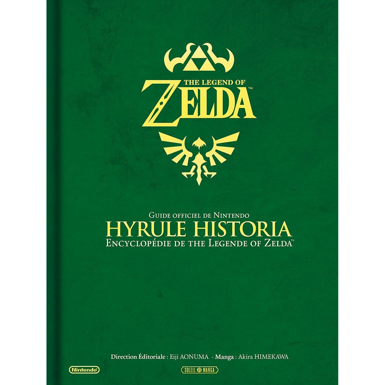 Couverture d'Hyrule Historia chez Amazon
