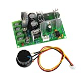 Anmbest 12V 24V 36V 48V 20A High Efficiency High Torque Low Heat Generating PWM DC Pump Motor Speed Controller with Adjustable Driver Switch for Arduino