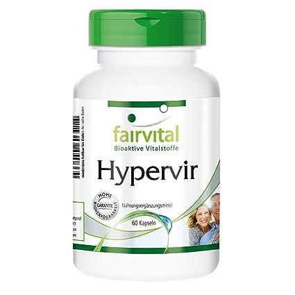 Hypervir mit L-Arginin, Jujube, Ginseng u. Ginkgo fur Männer 60 Kapseln