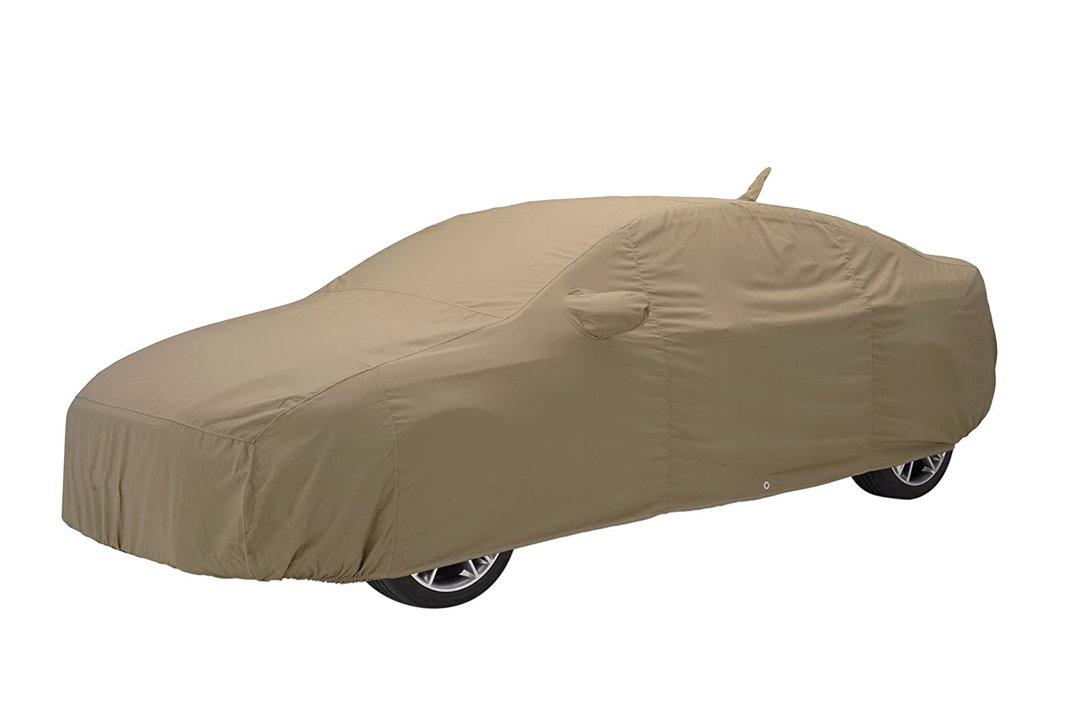 Covercraft Custom Fit Car Cover for Volvo 780 - Flannel Series Fabric, Tan