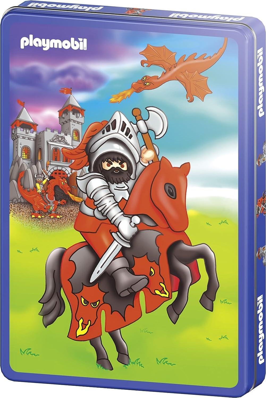 Schmidt Spiele 55544 – Playmobil, Ritter 40 Teile Puzzle, in Metalldose günstig