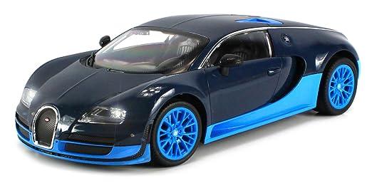 new bugatti veyron super sport fast electric rc car vehicle big 1 12 led lights ebay. Black Bedroom Furniture Sets. Home Design Ideas