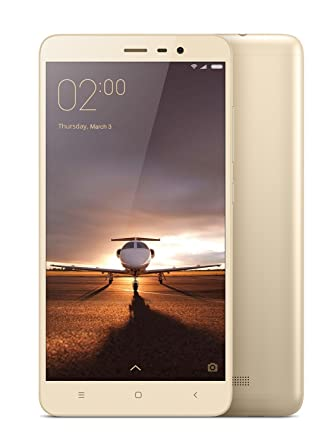 Xiaomi Redmi Note 3  Gold, 16  GB  available at Amazon for Rs.7095