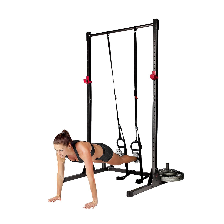 Power Rack Deadlift: Strength Power Lifting Rack Squat Bench Deadlift Curl Pull