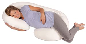 Leachco Snoogle Total Body Pillow, White