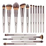 Makeup Brushes, ITME [Upgrade Version] Premium Makeup Brush Synthetic Cosmetics Professional Handle Makeup Brushes set, Kabuki Foundation Blending Mak