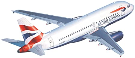 Revell - Maquette - Airbus A319 Br.Airways/German W  - Echelle 1:144