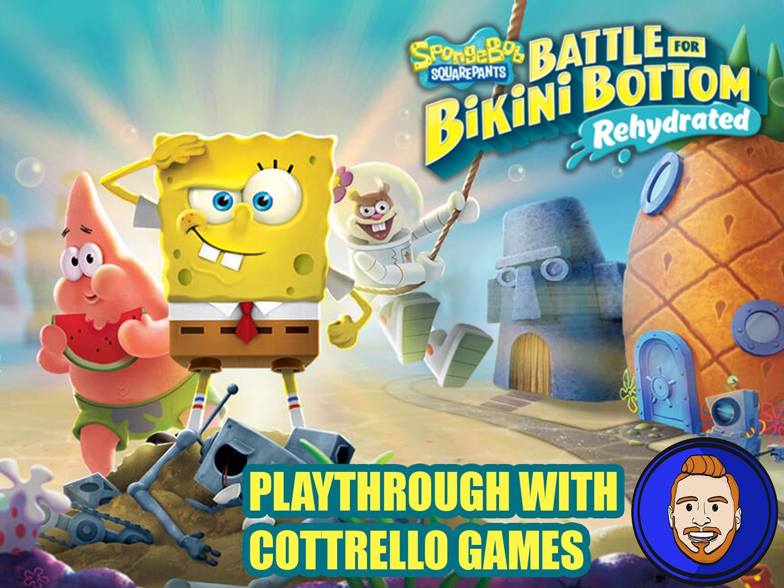 SpongeBob SquarePants: Battle for Bikini Bottom - Rehydrated Playthrough with Cottrello Games - Season 1