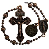 The Combat Rosary - WWI Military Issue Replica (Bronze Tone)