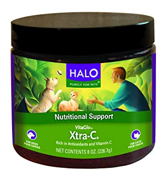 Vitamin C Great Dane Halo Vita Glo Xtra-C Instant