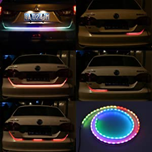 Katur 120cm tail light led strip car styling rgb dynamic streamer katur 120cm tail light led strip car styling rgb dynamic streamer waterproof tailgate led strip light aloadofball Image collections