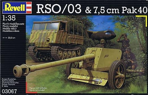 Revell - Maquette - Tracteur À Chenilles Ost(Rso)&Pa  - Echelle 1:35
