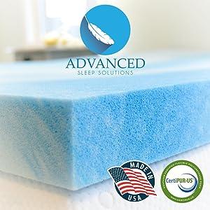 best memory foam mattress topper for back pain