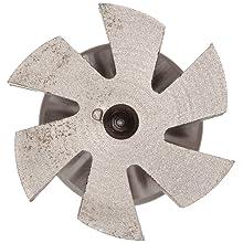 "Niagara Cutter N18901 Concave Radius Shank Type Cutter, High Speed Steel, Uncoated (Bright), Weldon Shank, 3/4"" Cutter Diameter, 6 Flutes, 1/16"" Radius, 0.375"" Width"