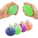 Mesh Squishy Ball (Pack of 12) (Color: Assorted, Tamaño: 12 Pack)