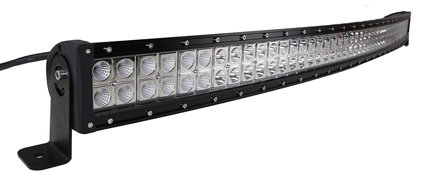 "Senlips Light Bar 52"" 300w Cree Curve LED Light Bar for Trucks and 4x4s (Flood Spot Combo)"