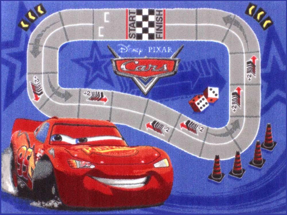 Spielteppich Kinderteppich – CARS – RACE 0,95 x 1,33 günstig