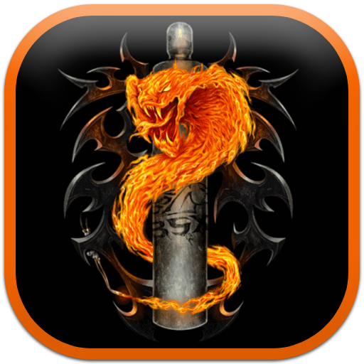 Fire snake Live Wallpaper: Amazon.it: App-Shop per Android