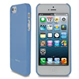 Estuche para  iPhone 5 Apple ultra delgado rooCASE color celeste