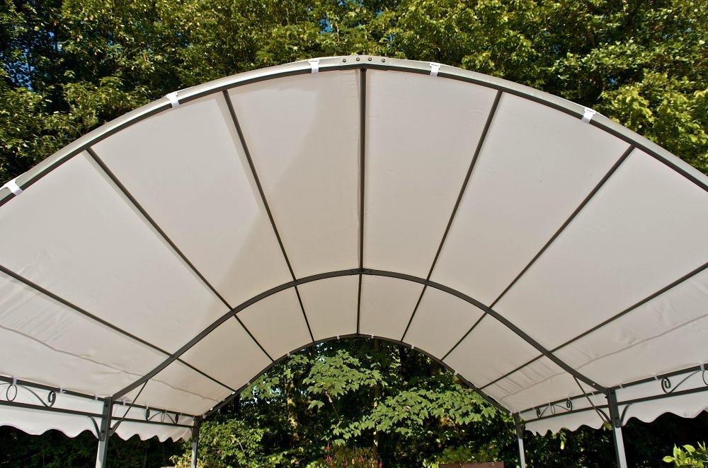CLP Ersatzdach für Pavillon KAIRO (Breite: 400 cm, Tiefe: 300 cm) creme