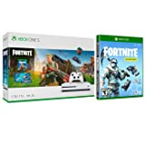 Xbox One Battle Royale Fortnite Eon Deep Freeze Bundle: 3000 V-Bucks, Eon and Deep Freeze Two Epic Cosmetic Sets, Xbox One S 1TB Gaming Console with Wireless Controller