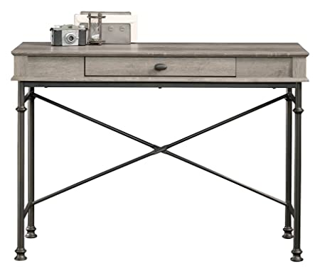 Teknik ufficio Canal altezze console scrivania, truciolato laminato, effetto quercia del Nord, 54.5x 118x 17cm