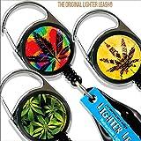 BarConic Premium Clip Lighter Leash - Pot Series