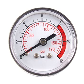 Air compressor Pressure Gauge