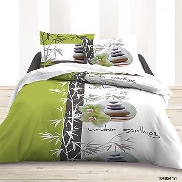 Cdaffaires Housse De Couette 220x240 Cm 100 Coton Bamboo