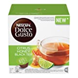 Nescafe Dolce Gusto Citrus Honey Black Tea Pods 16 Drinks