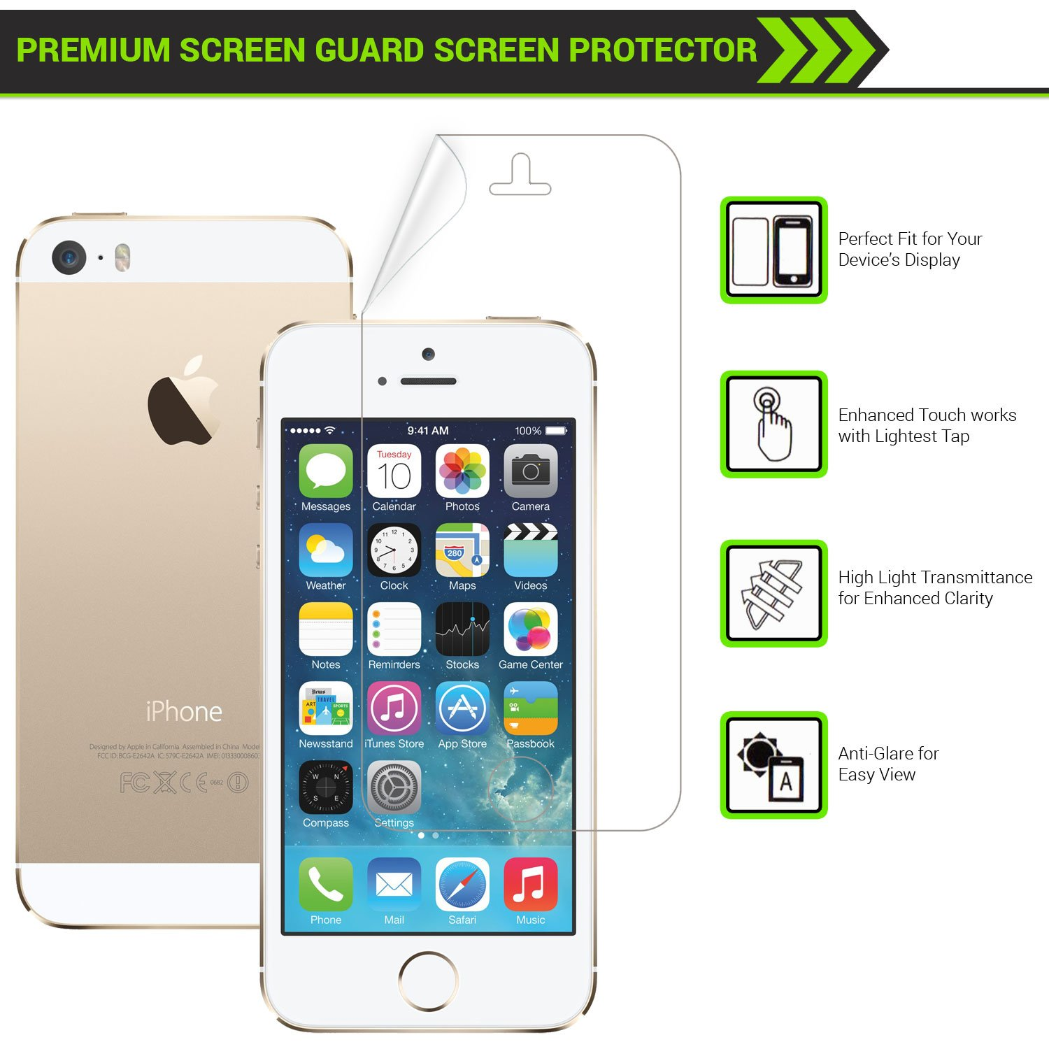 Deals on Airguard HD Clear Screen Guard for i phone 6 / 6 plus