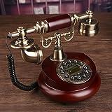 AMYDREAM Antique decorative telephone,Phone landline home fashion creative office fixed european antique retro resin telephone-A 15x25cm(6x10inch) (Color: A, Tamaño: 15x25cm(6x10inch))