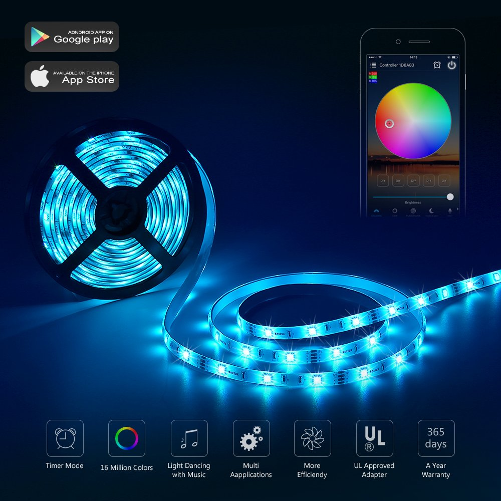 Led Light Strip Nexlux Wifi Wireless Smart Phone