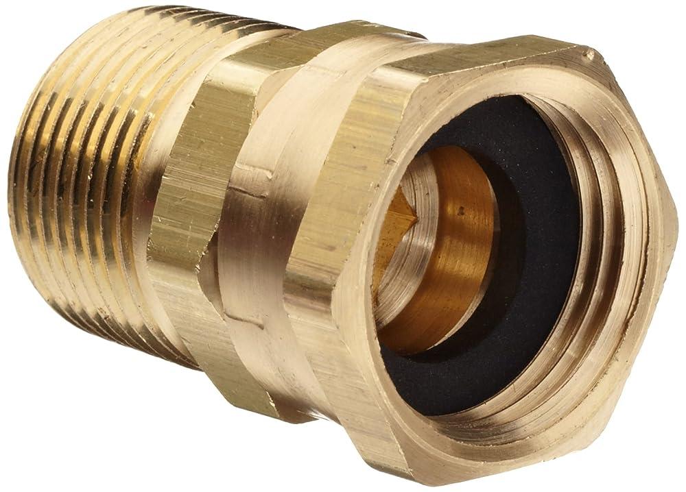 Dixon brass fitting adapter ght female swivel