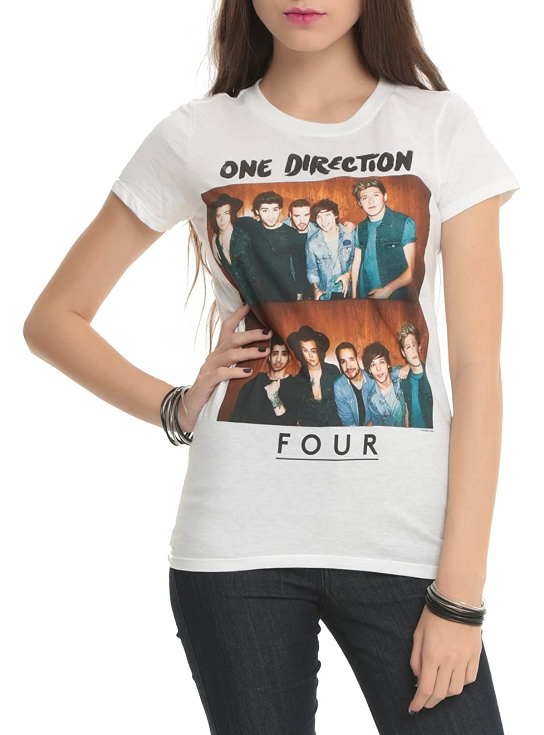One Direction FOUR Girls T-Shirt сигнализатор поклевки hoxwell new direction k9 r9 5 1