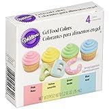 Wilton Gel Food Color Set, Primary (Color: Primary, Tamaño: 0.3 ounces)