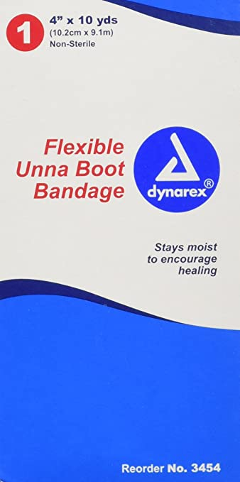 DYNAREX Unna Boot Bandage with Zinc