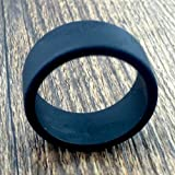 Tank Bands 21mm Silicone Tank Band Ring Bumper 21 COLORS AVAILABLE (4-PACK (Black))