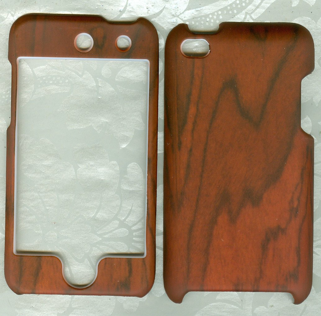 wood design case Cover apple iPOD TOUCH 4 4th Generation