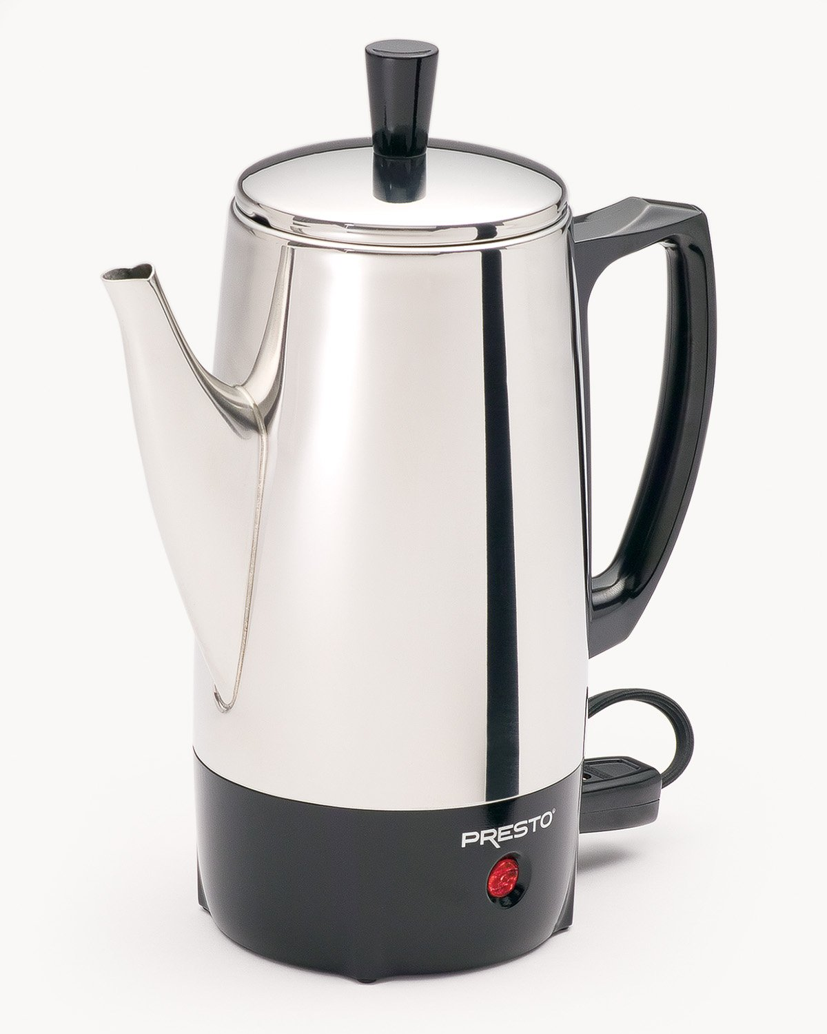 Coffee Maker With Percolator : Presto 02822 6-Cup Stainless-Steel Coffee Percolator , New, Free Shipping 75741028224 eBay