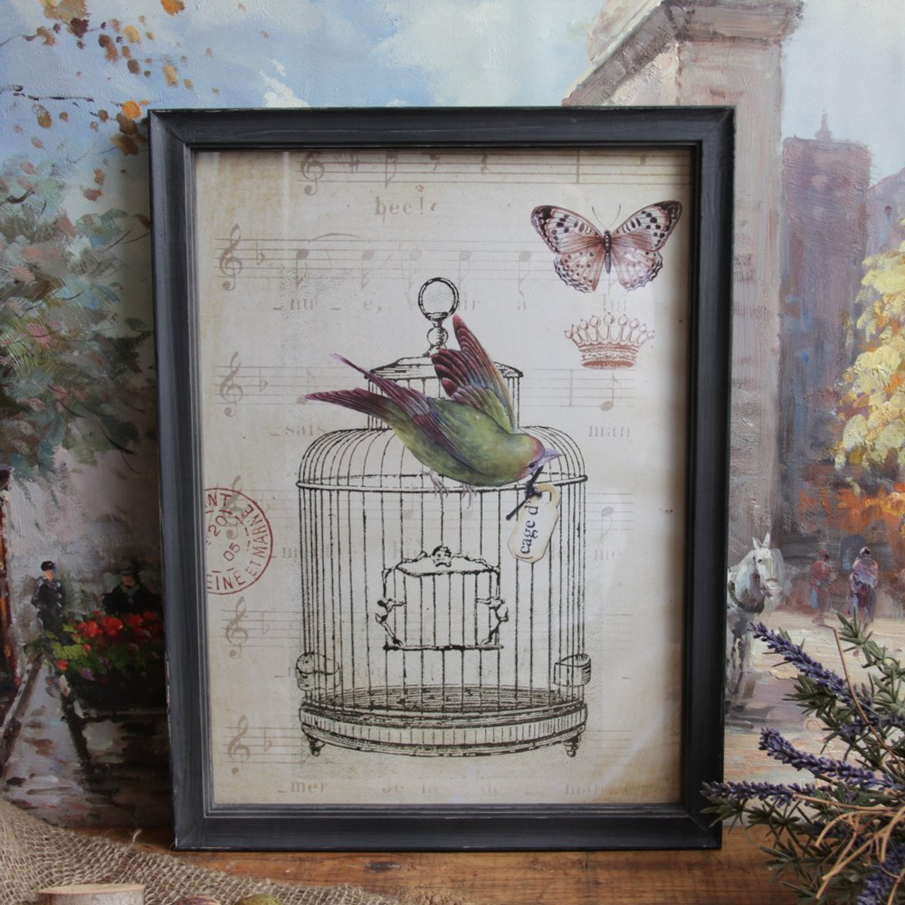 vintage shabby chic wall art