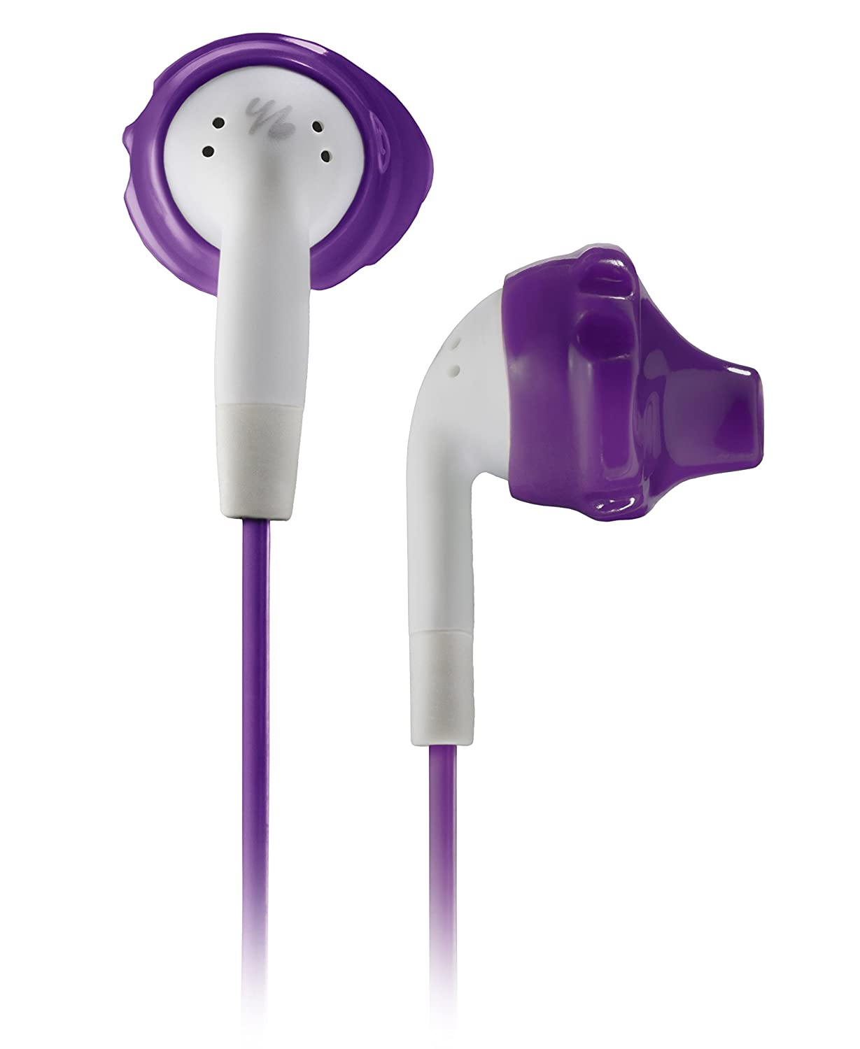 Sport in ear headphones for women with relatively small ears.