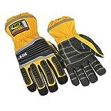 Ringers R-314 Extrication Gloves, Cut Resistant Work Gloves, Yellow, Medium (Color: Yellow, Tamaño: Medium)