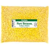 Stakich Pure YELLOW BEESWAX Pellets - 100% Natural, Cosmetic Grade, Premium Quality - (1 lb) (Color: yellow, Tamaño: 1 lb)