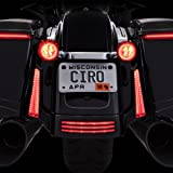 Fang Rear LED Signal Light Inserts (Chrome)