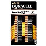 Duracell Coppertop Alkaline Batteries AA - 48 pk (Tamaño: 48 Count)
