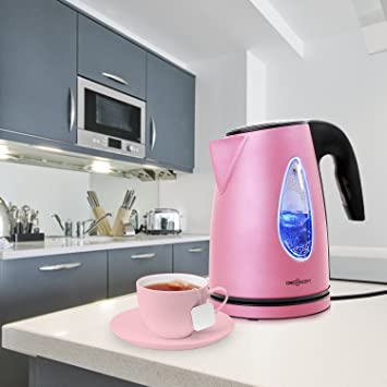 Wasserkocher pink