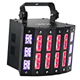 DJ Lighting, OPPSK 48W 3in1 Multifunction 9 Colors LED Beam Disco Lights 6LEDs Black Lights and Strobe Lights for Birthday Wedding Club DJ Lights Party (Color: Multi-Effects LED Beam DJ Lights)