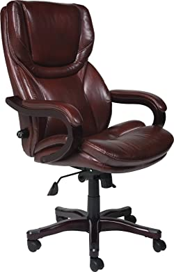 Serta 43506 Bonded Leather Executive Chair